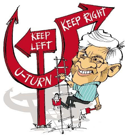 Image result for indian communists caricature